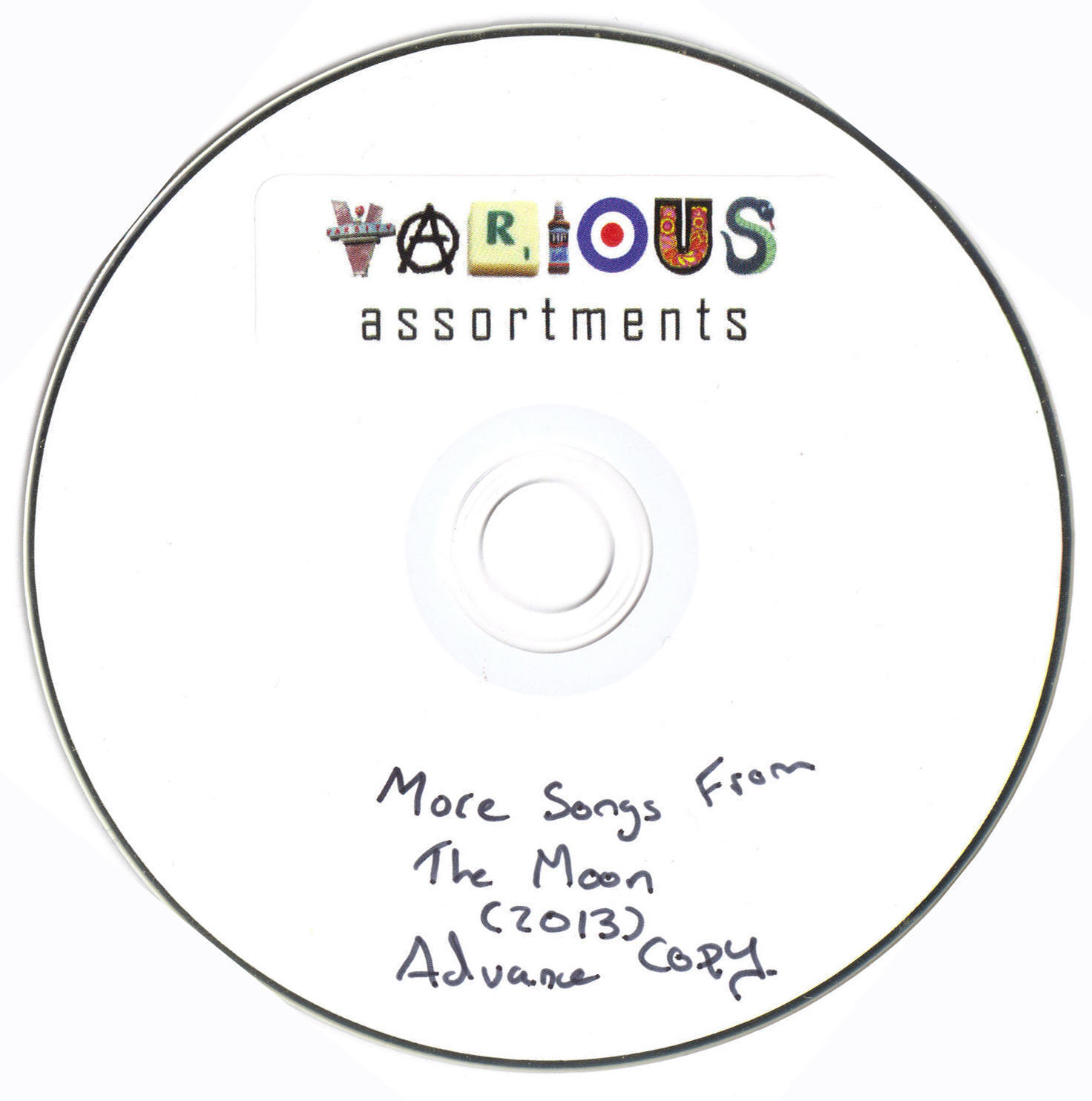 More Songs From The Moon promo CD